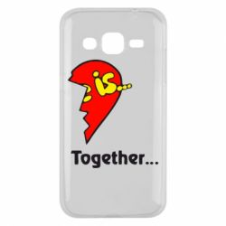 Чохол для Samsung J2 2015 Love is...Together