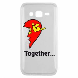 Чохол для Samsung J5 2015 Love is...Together