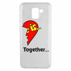 Чохол для Samsung J6 Love is...Together