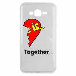 Чохол для Samsung J7 2015 Love is...Together