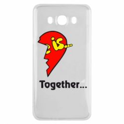 Чохол для Samsung J7 2016 Love is...Together