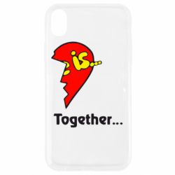 Чохол для iPhone XR Love is...Together
