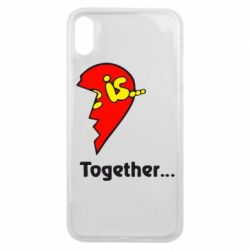 Чохол для iPhone Xs Max Love is...Together