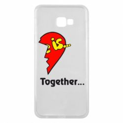 Чохол для Samsung J4 Plus 2018 Love is...Together