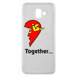 Чохол для Samsung J6 Plus 2018 Love is...Together
