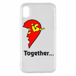 Чохол для iPhone X/Xs Love is...Together