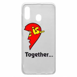 Чохол для Samsung A20 Love is...Together