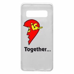 Чохол для Samsung S10 Love is...Together