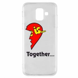 Чохол для Samsung A6 2018 Love is...Together