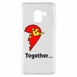 Чохол для Samsung A8 2018 Love is...Together