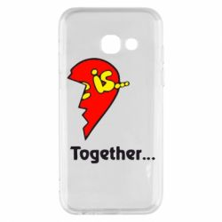 Чохол для Samsung A3 2017 Love is...Together