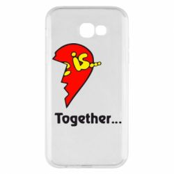 Чохол для Samsung A7 2017 Love is...Together
