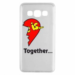 Чохол для Samsung A3 2015 Love is...Together