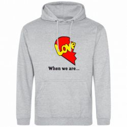 Толстовка Love Is...When we are