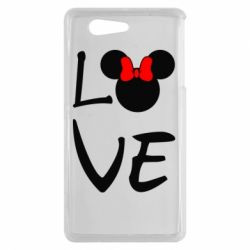Чехол для Sony Xperia Z3 mini Love Mickey Mouse (female) - FatLine