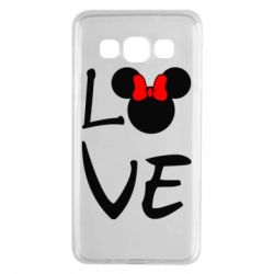 Чехол для Samsung A3 2015 Love Mickey Mouse (female) - FatLine