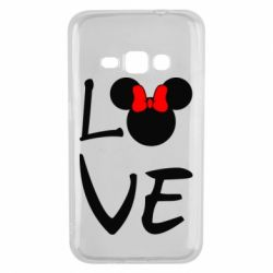 Чехол для Samsung J1 2016 Love Mickey Mouse (female) - FatLine
