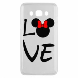 Чехол для Samsung J5 2016 Love Mickey Mouse (female) - FatLine