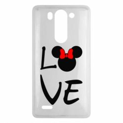 Чехол для LG G3 mini/G3s Love Mickey Mouse (female) - FatLine