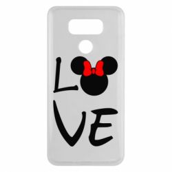 Чехол для LG G6 Love Mickey Mouse (female) - FatLine