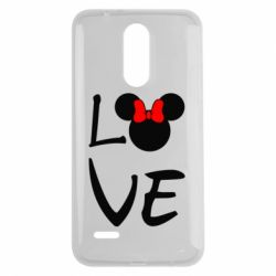 Чехол для LG K7 2017 Love Mickey Mouse (female) - FatLine