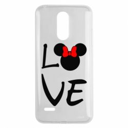 Чехол для LG K8 2017 Love Mickey Mouse (female) - FatLine