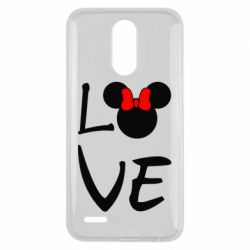 Чехол для LG K10 2017 Love Mickey Mouse (female) - FatLine