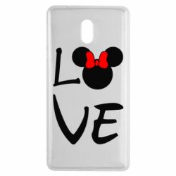 Чехол для Nokia 3 Love Mickey Mouse (female) - FatLine