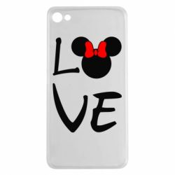 Чехол для Meizu U20 Love Mickey Mouse (female) - FatLine