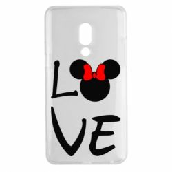 Чехол для Meizu 15 Plus Love Mickey Mouse (female) - FatLine