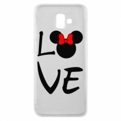 Чехол для Samsung J6 Plus 2018 Love Mickey Mouse (female) - FatLine