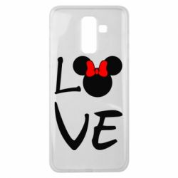 Чехол для Samsung J8 2018 Love Mickey Mouse (female) - FatLine