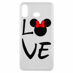 Чехол для Samsung A6s Love Mickey Mouse (female) - FatLine