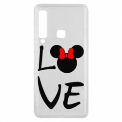 Чехол для Samsung A9 2018 Love Mickey Mouse (female) - FatLine