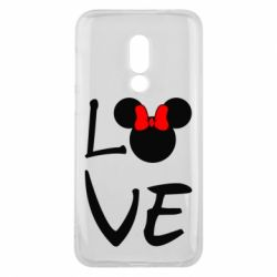 Чехол для Meizu 16 Love Mickey Mouse (female) - FatLine