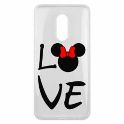 Чехол для Meizu 16 plus Love Mickey Mouse (female) - FatLine