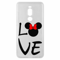 Чехол для Meizu Note 8 Love Mickey Mouse (female) - FatLine