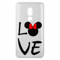 Чехол для Meizu V8 Love Mickey Mouse (female) - FatLine