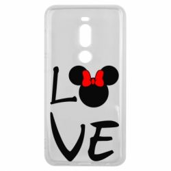 Чехол для Meizu V8 Pro Love Mickey Mouse (female) - FatLine