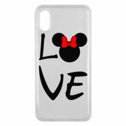 Чехол для Xiaomi Mi8 Pro Love Mickey Mouse (female) - FatLine