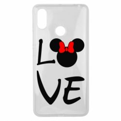 Чехол для Xiaomi Mi Max 3 Love Mickey Mouse (female) - FatLine