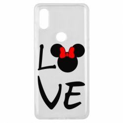 Чехол для Xiaomi Mi Mix 3 Love Mickey Mouse (female) - FatLine