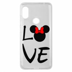 Чехол для Xiaomi Redmi Note 6 Pro Love Mickey Mouse (female) - FatLine