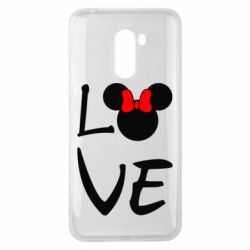 Чехол для Xiaomi Pocophone F1 Love Mickey Mouse (female) - FatLine