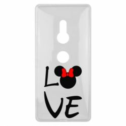 Чехол для Sony Xperia XZ2 Love Mickey Mouse (female) - FatLine