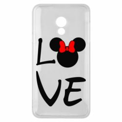 Чехол для Meizu 15 Lite Love Mickey Mouse (female) - FatLine