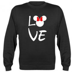 Реглан (свитшот) Love Mickey Mouse (female) - FatLine