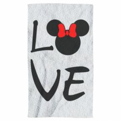 Полотенце Love Mickey Mouse (female) - FatLine