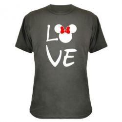 Камуфляжная футболка Love Mickey Mouse (female)