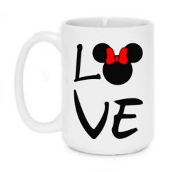 Кружка 420ml Love Mickey Mouse (female) - FatLine